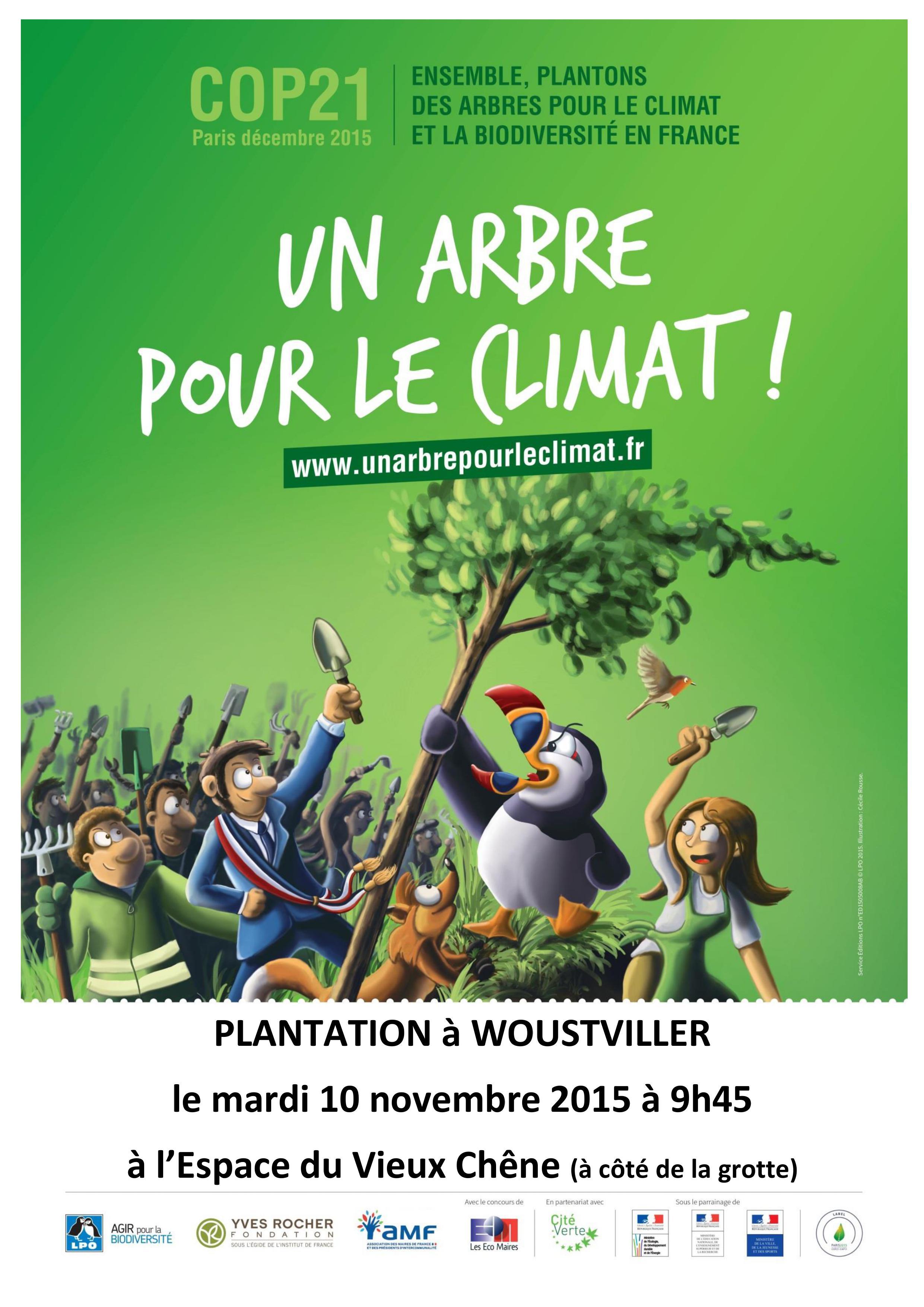 Un arbre pour le climat