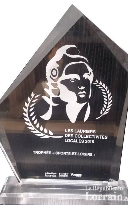 Le W de Woustviller : Lauréat des Lauriers des Collectivités Locales de Moselle 2016