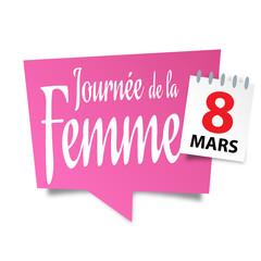 Journée internationale des femmes  8 mars