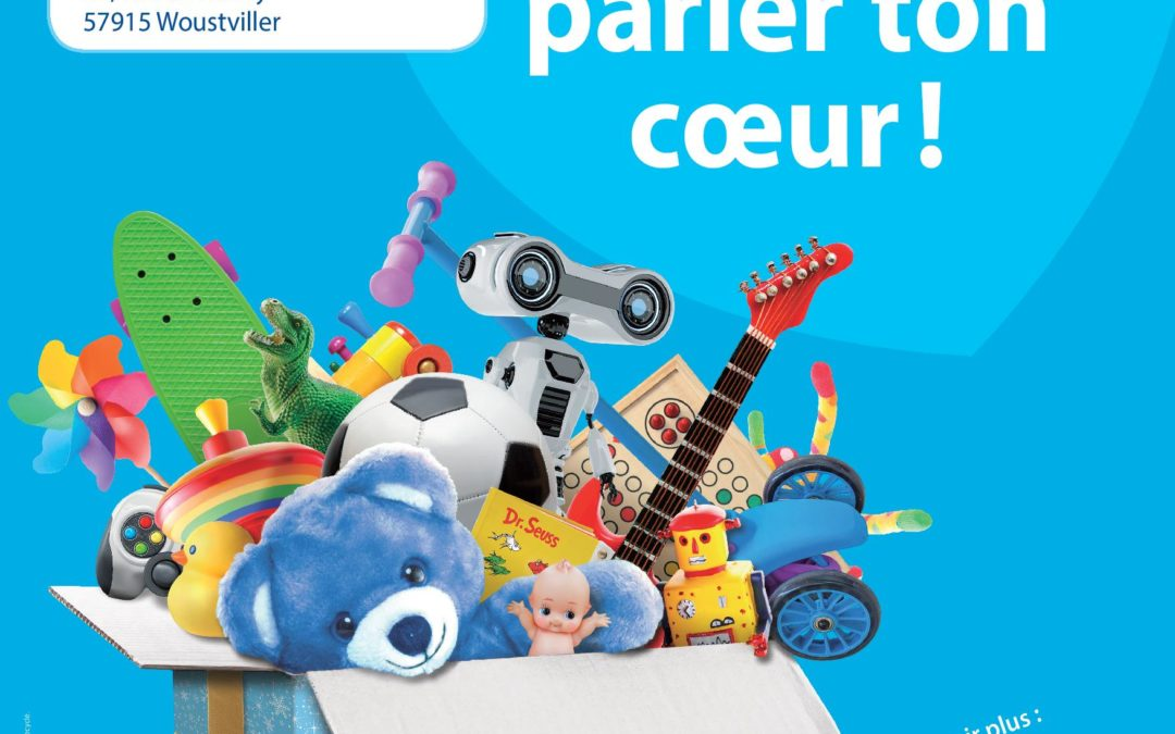 Résultat de la collecte solidaire de jouets d'occasion