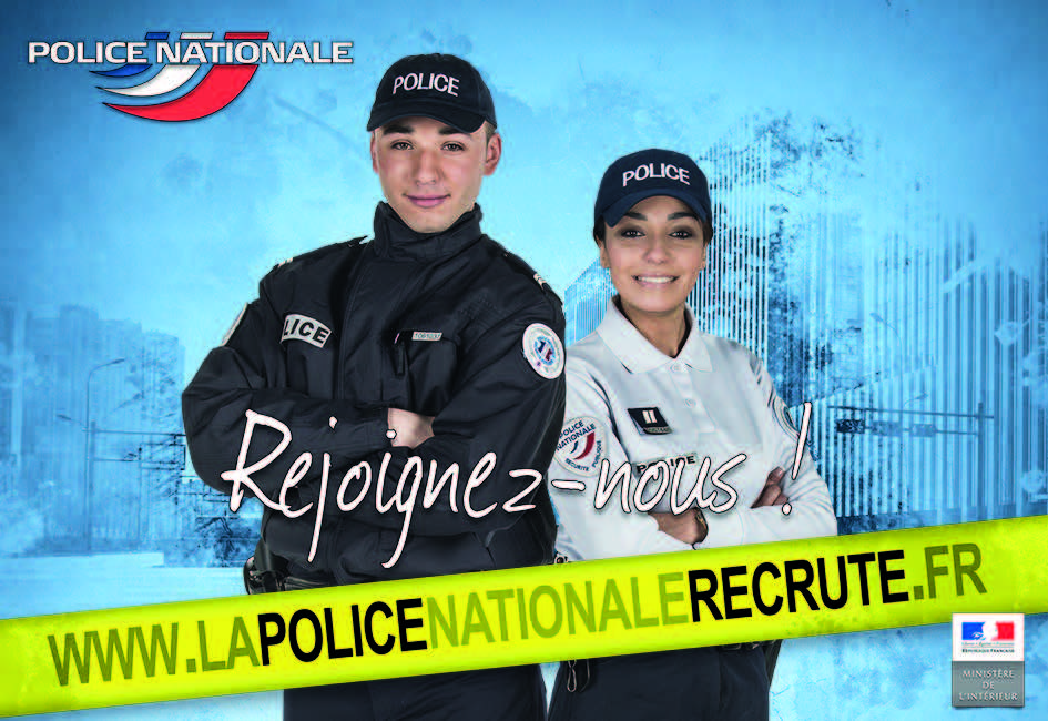 La Police Nationale recrute, devenez Cadet de la République