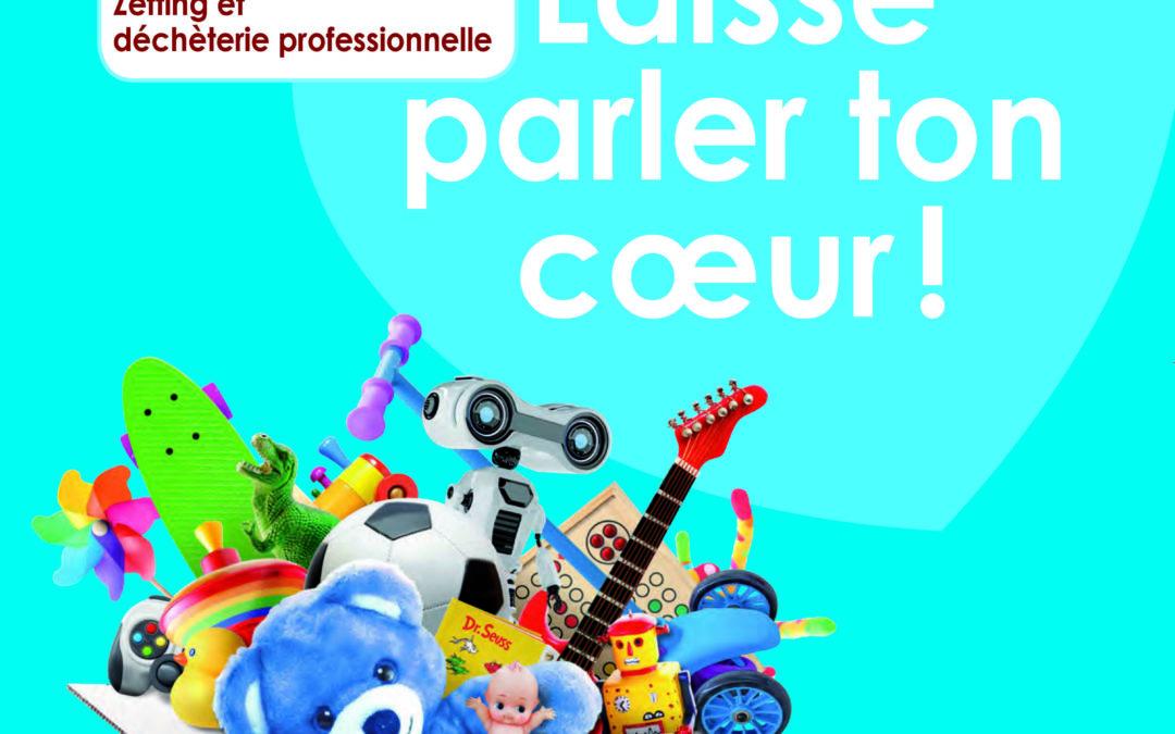 Collecte solidaire de jouets