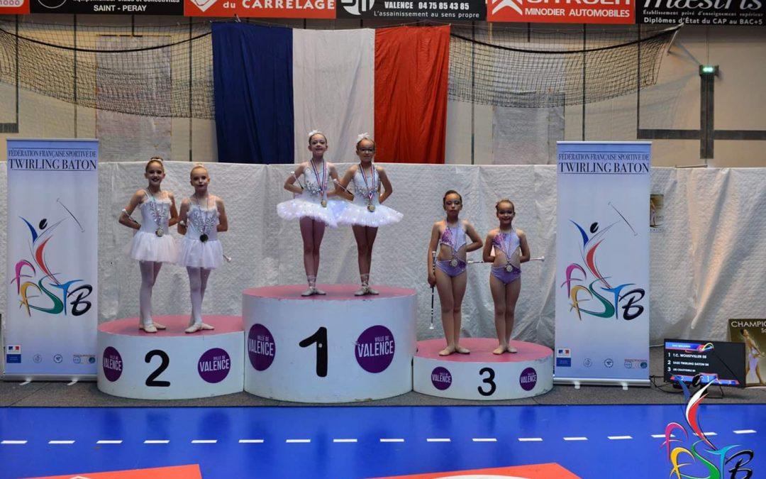 Finale de twirling N3 à Valence