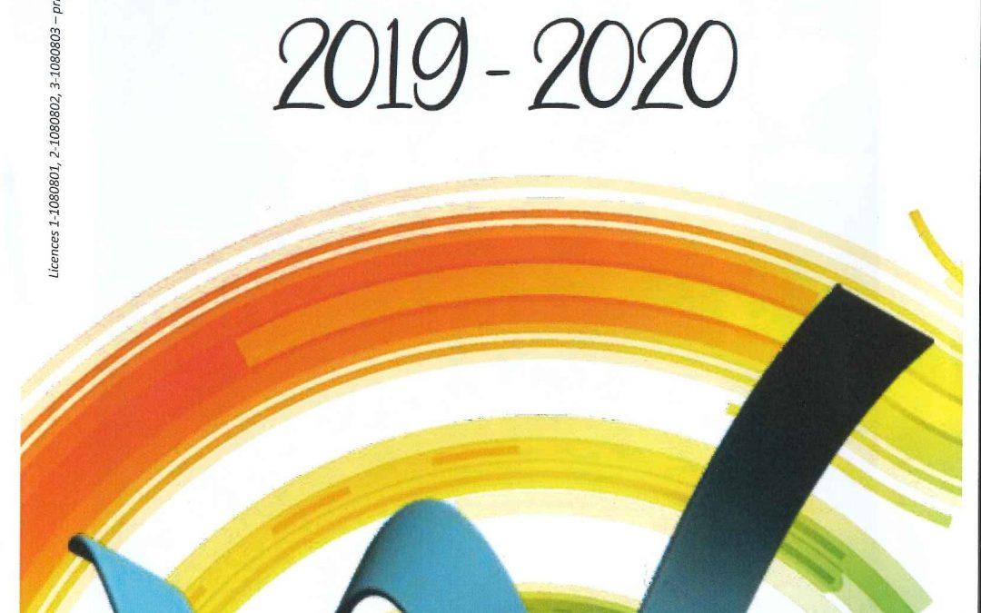 Saison culturelle 2019-20
