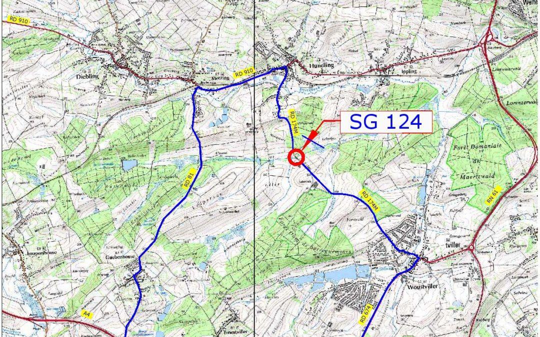 Avis sur déviation SG124 HUNDLING RD174M